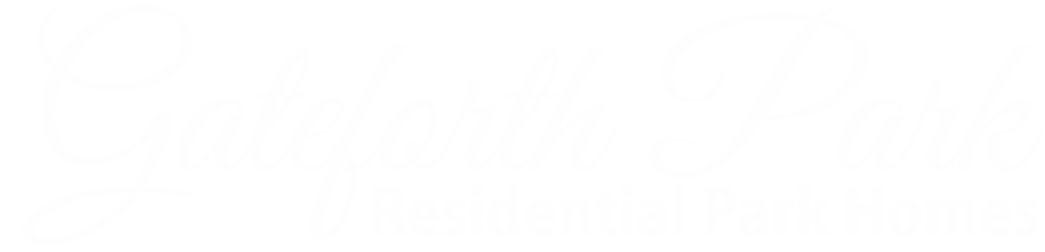 Gateforth Park Logo in White