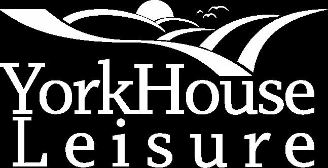 York House Leisure Logo White