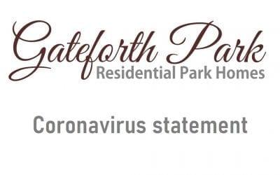 Gateforth Park statement about coronavirus